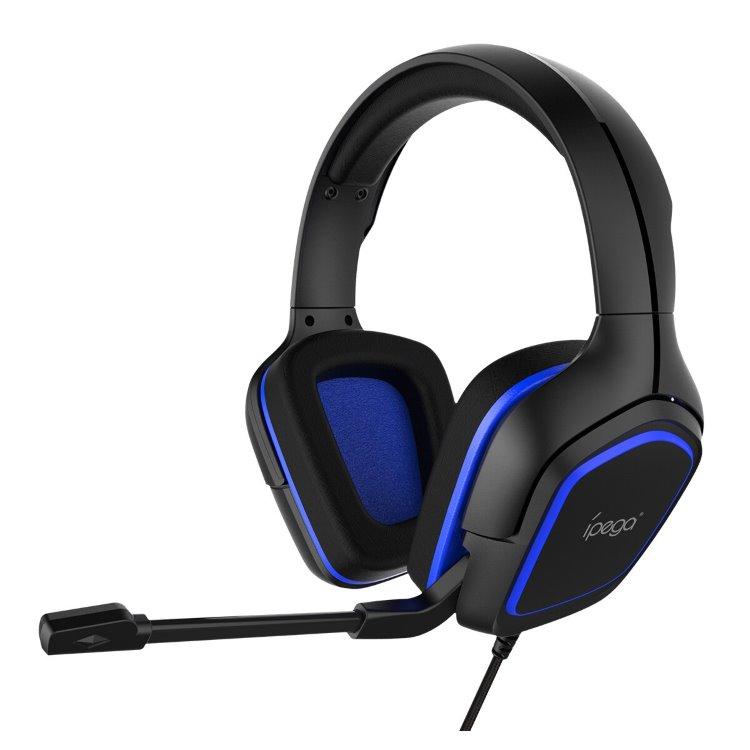 Herné slúchadlá s mikrofónom iPega R006, Blue
