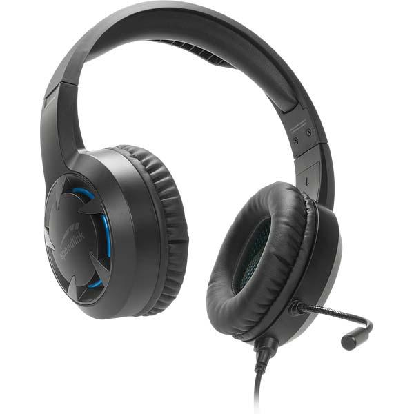 Herné slúchadlá Speedlink Casad Gaming Headset - čierne