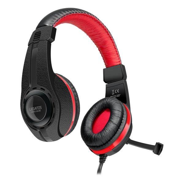Herné slúchadlá Speedlink Legatos Stereo Headset pre PS4 SL-450302-BK