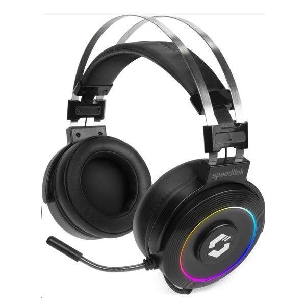 Herné slúchadlá Speedlink Orios RGB 7.1 Gaming Headset