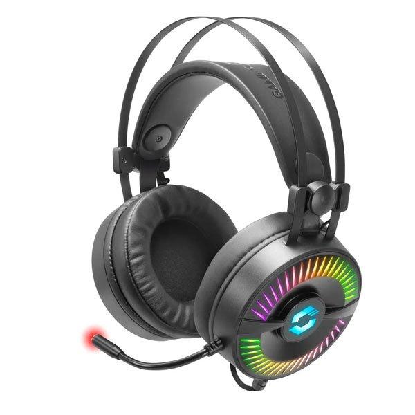 Herné slúchadlá Speedlink Quyre RGB 7.1 Gaming Headset SL-860006-BK