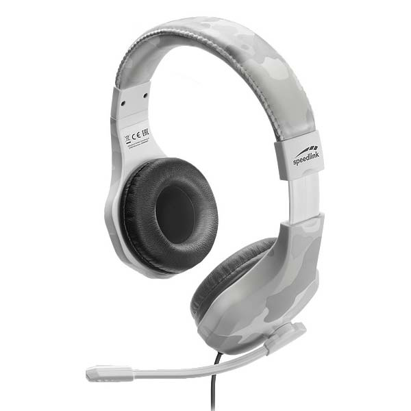 Herné slúchadlá Speedlink Raidor Stereo Headset pre PS4, biele