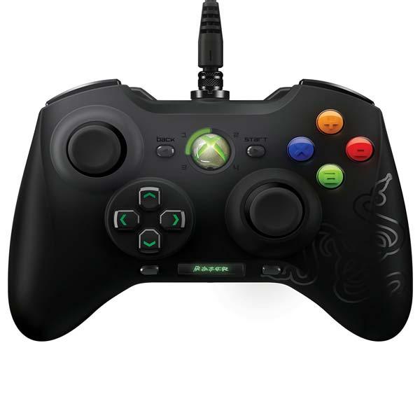 Herný ovládač Razer Sabertooth Elite pre Xbox 360