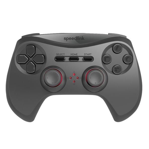 Herný ovládaè Speedlink Strike NX Gamepad Wireless pre PS3, èierny