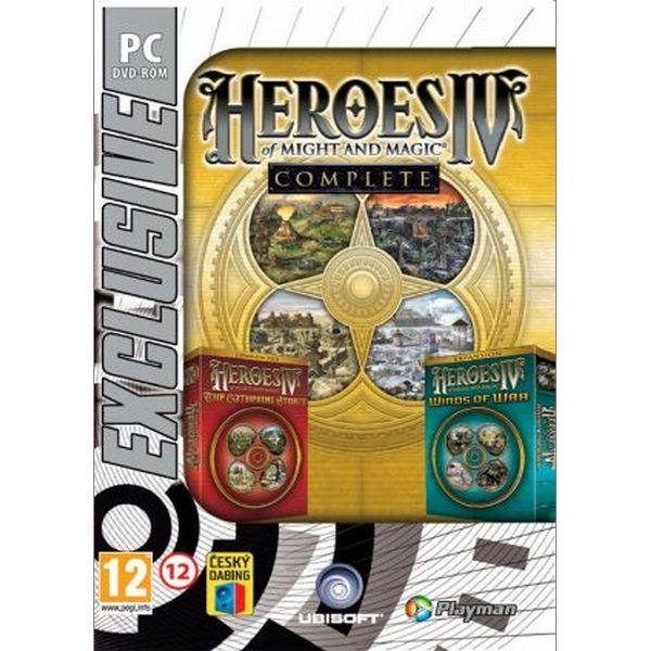 Heroes of Might and Magic 4 Complete CZ