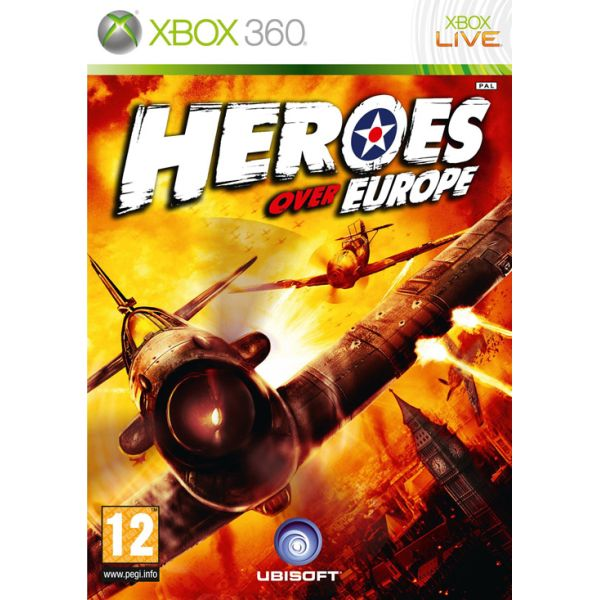 Heroes over Europe [XBOX 360] - BAZÁR (použitý tovar)