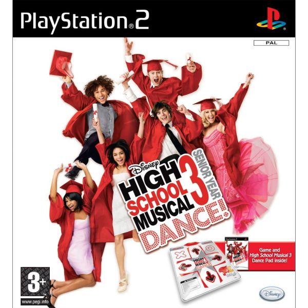 High School Musical 3: Senior year DANCE! + tanečná podložka