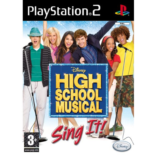 High School Musical: Sing It! + mikrofón