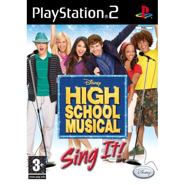 High School Musical: Sing It! [PS2] - BAZÁR (použitý tovar)