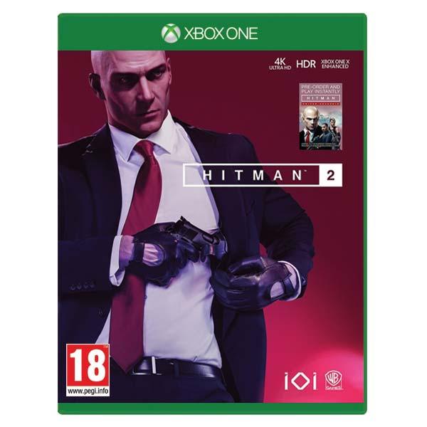 Hitman 2 [XBOX ONE] - BAZÁR (použitý tovar)