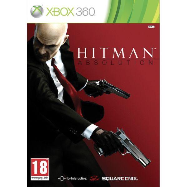 Hitman: Absolution- XBOX 360- BAZÁR (použitý tovar)