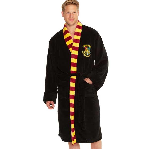 Hogwarts Mens Bathrobe (Harry Potter)