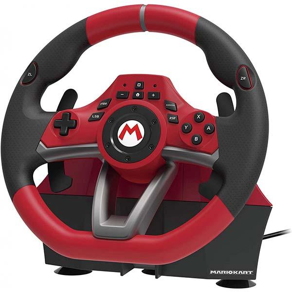 HORI pretekársky volant Mario Kart Pro DELUXE pre konzoly Nintendo Switch, èervený