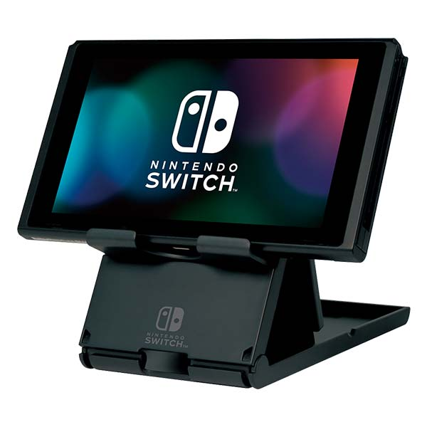 HORI stojan pre konzoly Nintendo Switch, čierny