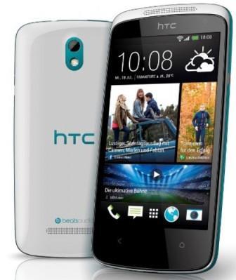 HTC Desire 500   Blue, Trieda C - použité, záruka 12 mesiacov