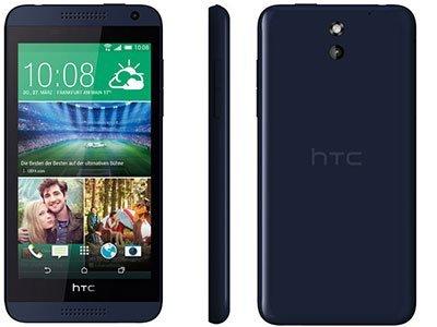 HTC Desire 610, 8GB   Navy Blue, Trieda B - použité, záruka 12 mesiacov