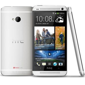 HTC ONE - M7, 32GB | RUŽOVÝ FOŤÁK | Silver, Trieda B - použité, záruka 12 mesiacov