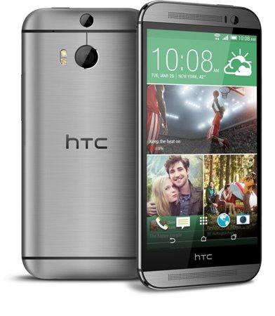 HTC ONE - M8, 32GB   Dark Gray, Trieda C - použité, záruka 12 mesiacov