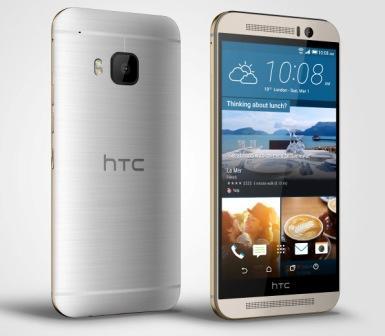 HTC ONE - M9, 32GB | Gold on Silver, Trieda A - použité, záruka 12 mesiacov