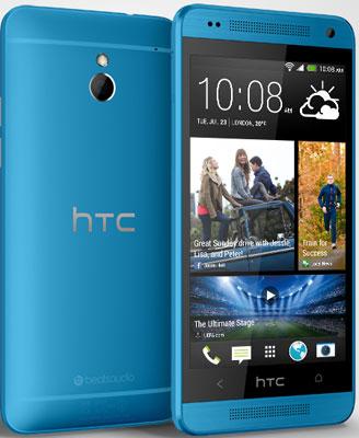 HTC ONE mini, 16GB | Blue, Trieda C - použité, záruka 12 mesiacov