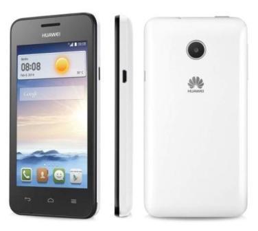 Huawei Ascend Y330, 4GB | White, Trieda B - použité, záruka 12 mesiacov