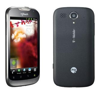 Huawei Mytouch 2 - U8680, 4GB   Black, Trieda C - použité, záruka 12 mesiacov