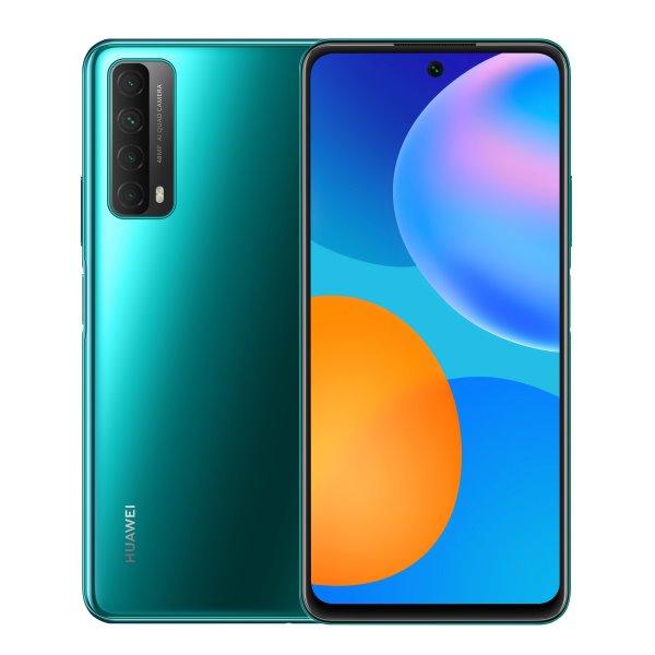 Huawei P Smart 2021, crush green - SK distribúcia