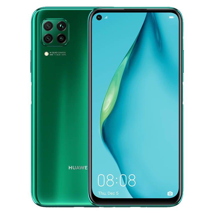 Huawei P40 Lite, 6/128GB, Dual SIM, Crush Green - SK distribúcia 51095CJX