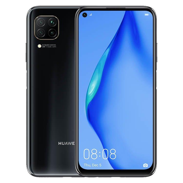 Huawei P40 Lite, 6/128GB, Dual SIM, Midnight Black - SK distribúcia 51095CJV