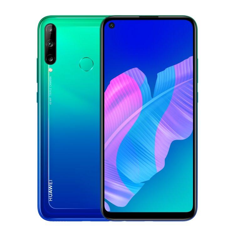Huawei P40 Lite E, 4/64GB, Dual SIM, Aurora Blue - SK distribúcia 51095DCG