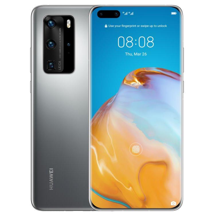 Huawei P40 Pro 5G, 8/256GB, Dual SIM, Silver Frost - SK distribúcia 51095CAL