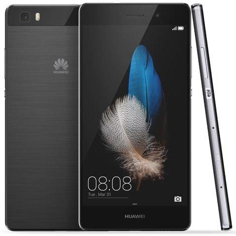 Huawei P8 Lite, Dual SIM | Black, Trieda C - použité, záruka 12 mesiacov