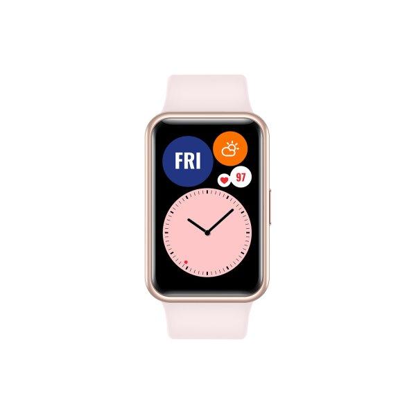 Huawei Watch Fit, sakura pink