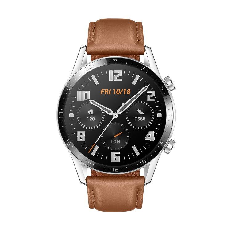 Huawei Watch GT2 Classic, 46mm, Gravel Brown