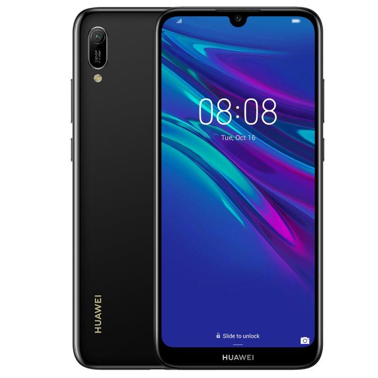Huawei Y6 2019, Dual SIM, Midnight Black - SK distribúcia 51093KGW