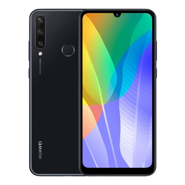 Huawei Y6p, Dual SIM, Midnight Black - SK distribúcia