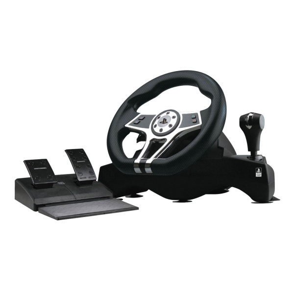 Hurricane Steering Wheel for use with PS3/PS4 - OPENBOX (Rozbalen� tovar s plnou z�rukou)