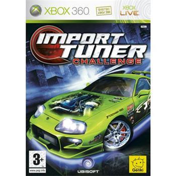 Import Tuner Challenge [XBOX 360] - BAZÁR (použitý tovar)