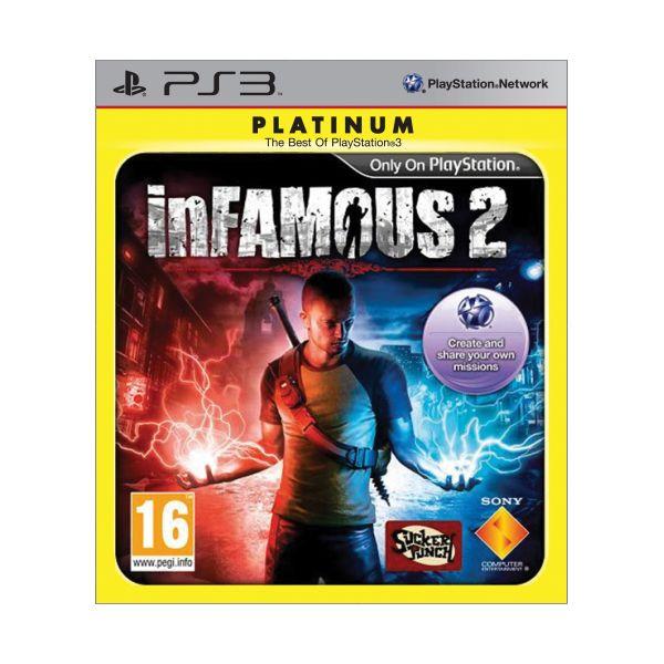 inFamous 2 PS3 - BAZÁR (použitý tovar)
