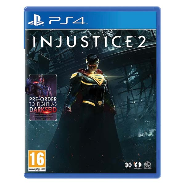 Injustice 2 [PS4] - BAZÁR (použitý tovar)