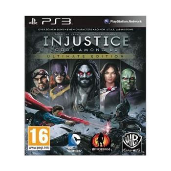 Injustice: Gods Among Us (Ultimate Edition) [PS3] - BAZÁR (použitý tovar)