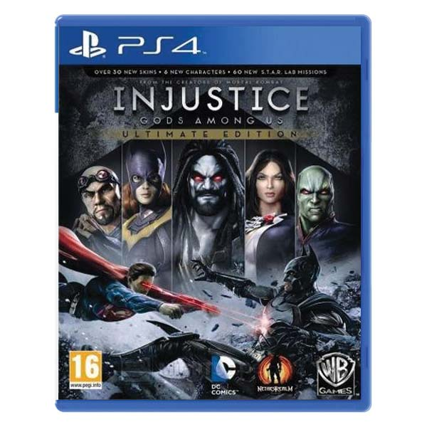 Injustice: Gods Among Us (Ultimate Edition) PS4