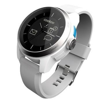 Inteligentné hodinky Cookoo pre zariadenia so systémom iOS a Android, White - OPENBOX (rozbalený tovar s plnou zárukou)