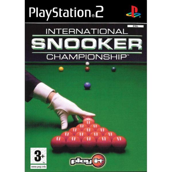 Internatonal Snooker Championship [PS2] - BAZÁR (použitý tovar)