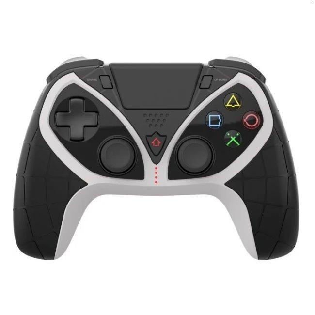 iPega 4012 bezdrôtový herný ovládač pre PS5/PS4/PS3, black/white 8596311137303