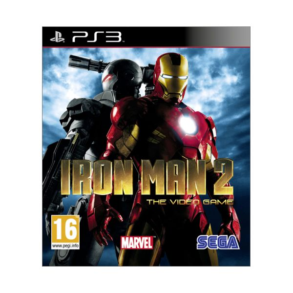 Iron Man 2: The Video Game [PS3] - BAZ�R (pou�it� tovar)