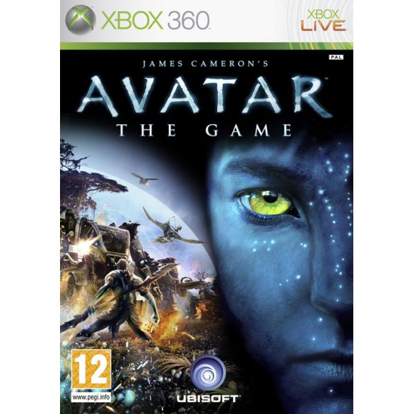 James Cameron�s Avatar: The Game [XBOX 360] - BAZ�R (pou�it� tovar)