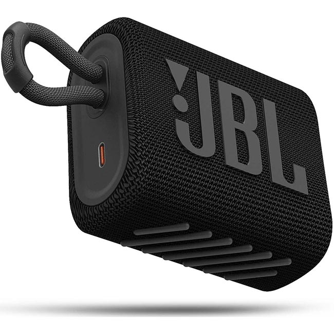 Čierny reproduktor – JBL GO 3, Black