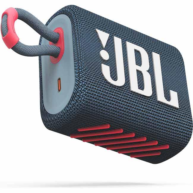 JBL GO 3, Blue coral