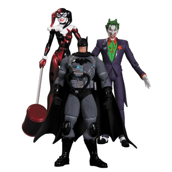 Joker, Harley Quinn & Stealth Batman 3-pack (Batman: Hush)